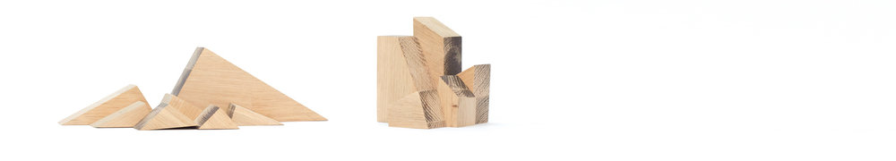 """Horizons is a home decorative product that was born while cutting pieces of wood"""