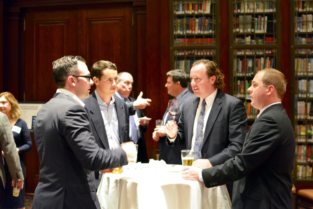 Networking event at the Union League
