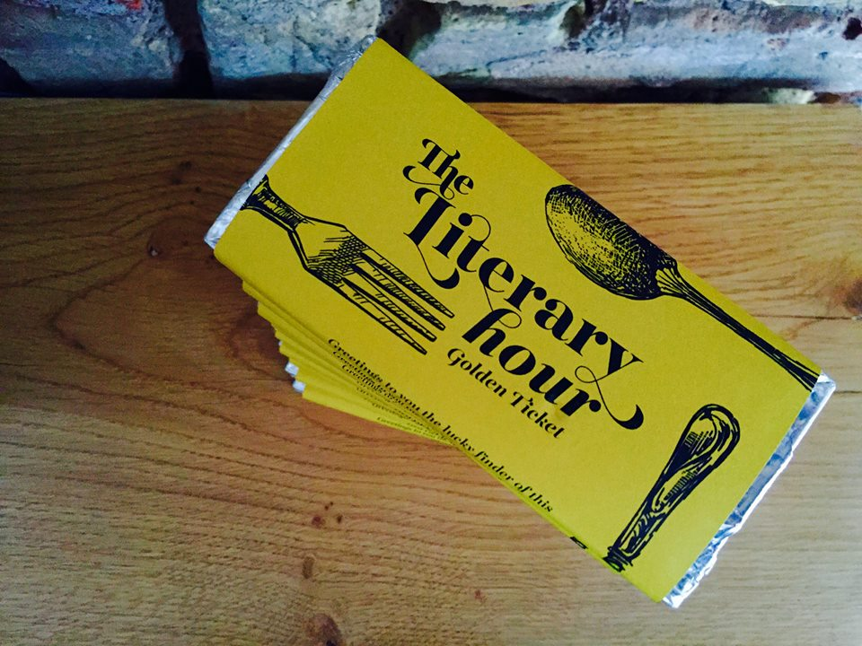 The Literary Hour Golden Tickets
