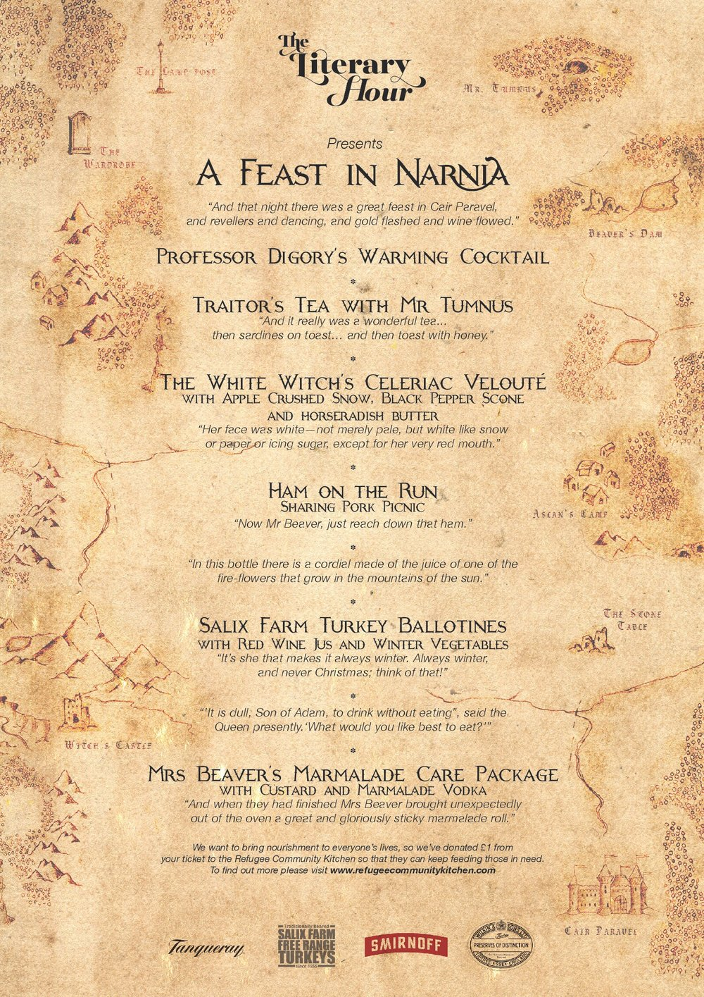 Feast in Narnia menu (front page) with all logos.jpg