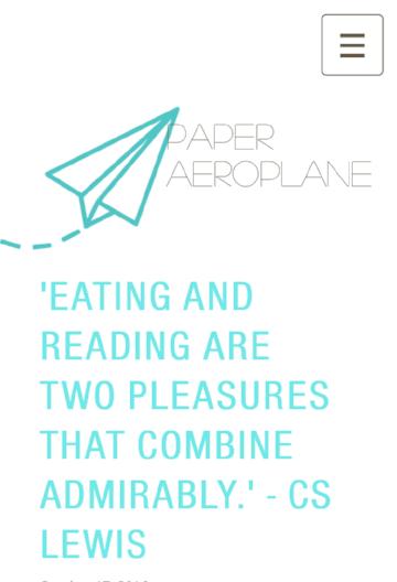 Paper Aeroplane, 17 Oct 16
