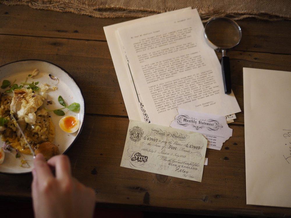 Chapter 1: A Wedding Breakfast Part ii - Kedgeree