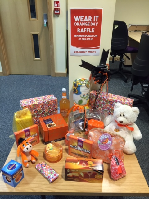 Avante's Orange Raffle in aid of Oasis