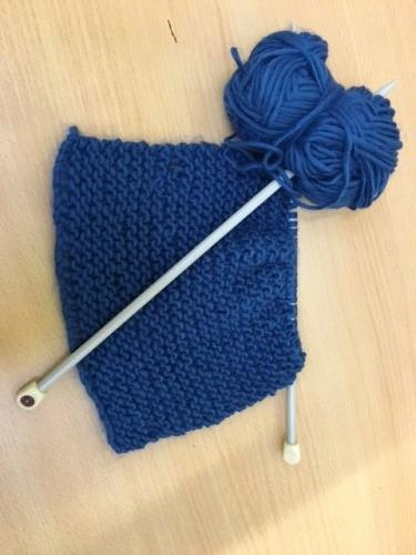 Learning to Knit!