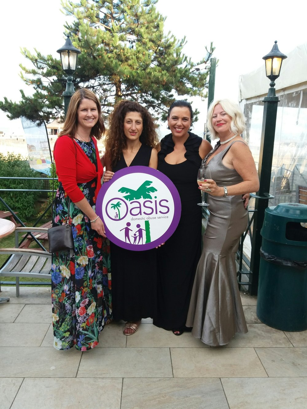 Oasis Ball Dee, Loukia, Carol, Sam.jpg