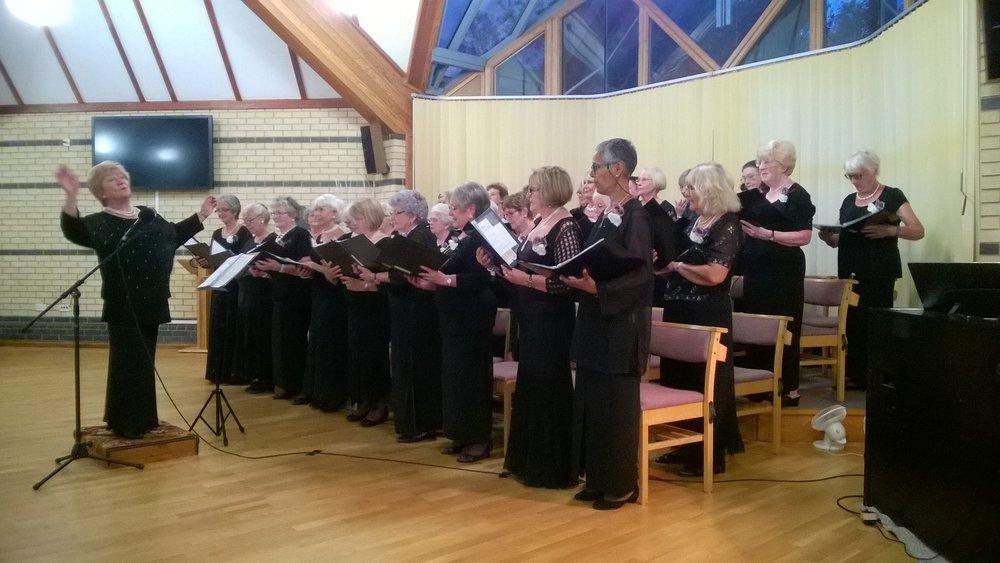 The Serenaders Ladies Choir charity concert