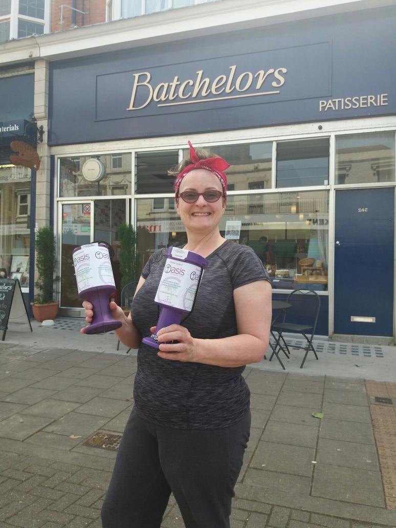 Gillian Turner of Batchelors Patisserie