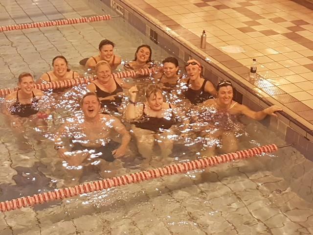 Photo: Walpole Bay Swimmers take on the Swimathon