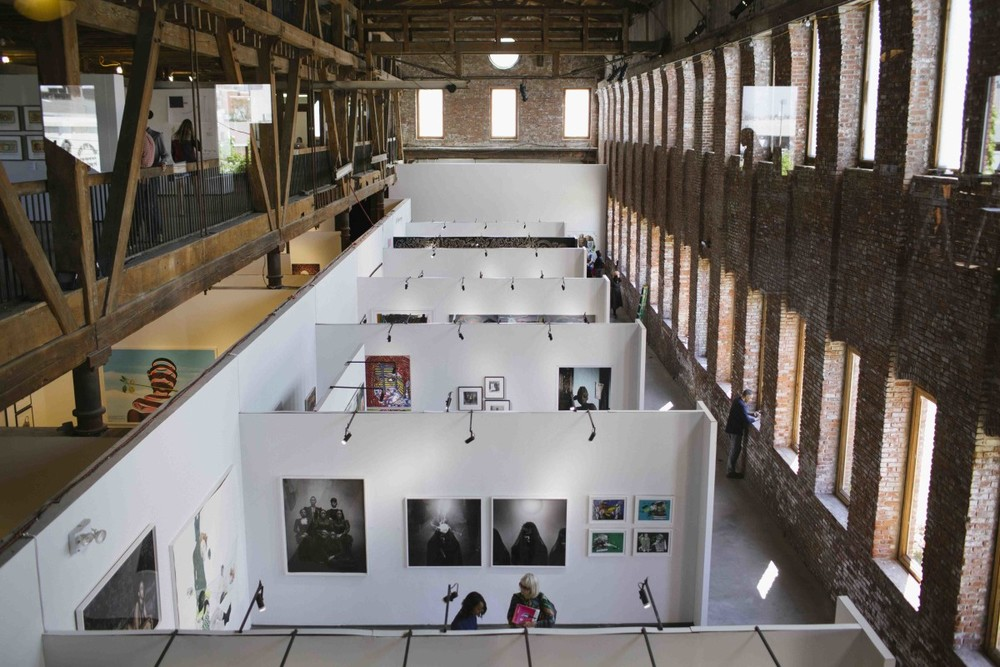 1:54 New York 2015 at Pioneer Works, Brooklyn. Photo: © Katrina Sorrentino, courtesy 1:54 Contemporary African Art Fair.