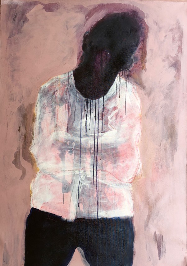 When Italian collector Lavinia Calza moved to Kenya four years ago, one of her first discoveries was Beatrice Wanjiku, a painter from Ngong Hills whose haunting figures evoke Francis Bacon with a twist. Ms. Calza now organizes international pop-up shows through her ARTLabAfrica so she can show works like Ms. Wanjiku's 'Recalled to Life.' (British collector Charles Saatchi owns her work.)  © Beatrice Wanjiku/ARTLabAfrica