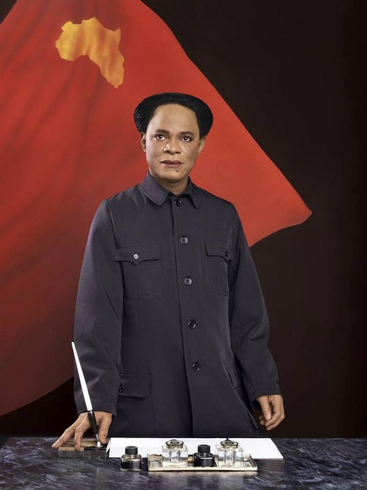 'Self-Portrait as Mao Zedong' by Samuel Fosso Photo: © Samuel Fosso/ Jean Marc Patras, Paris