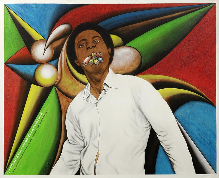 Chéri Samba, 'I am the man who eats paint,' 2005. Photo: Chéri Samba/Bonhams