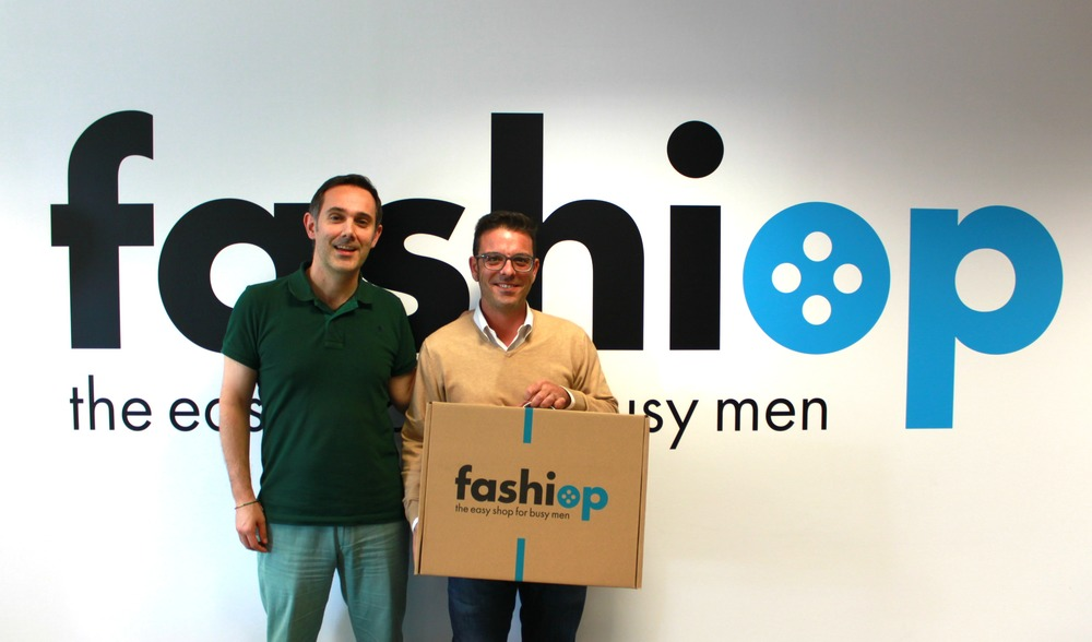 Carlos Solana y Eduard Coves, fundadores de Fashiop