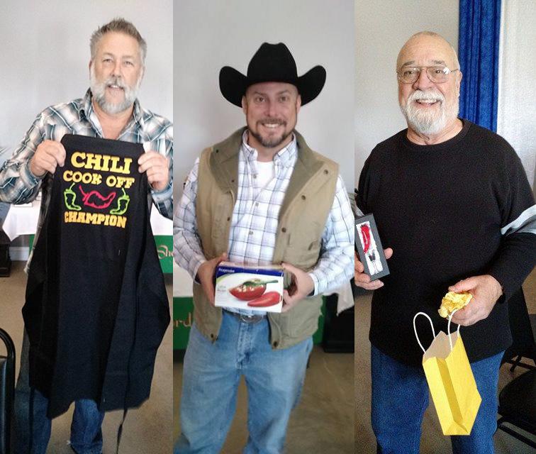 Chuck Rowan, Joel Telschow, Ray Fulsom
