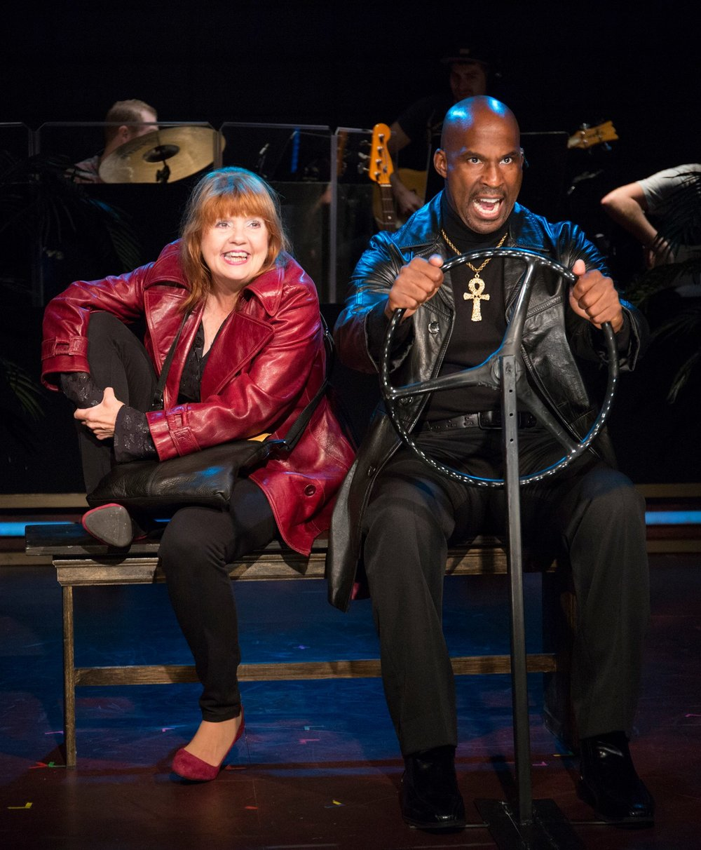 Annie Golden and Alan H. Green as Annie and Lazarus in the Barrington Stage production, 2016.