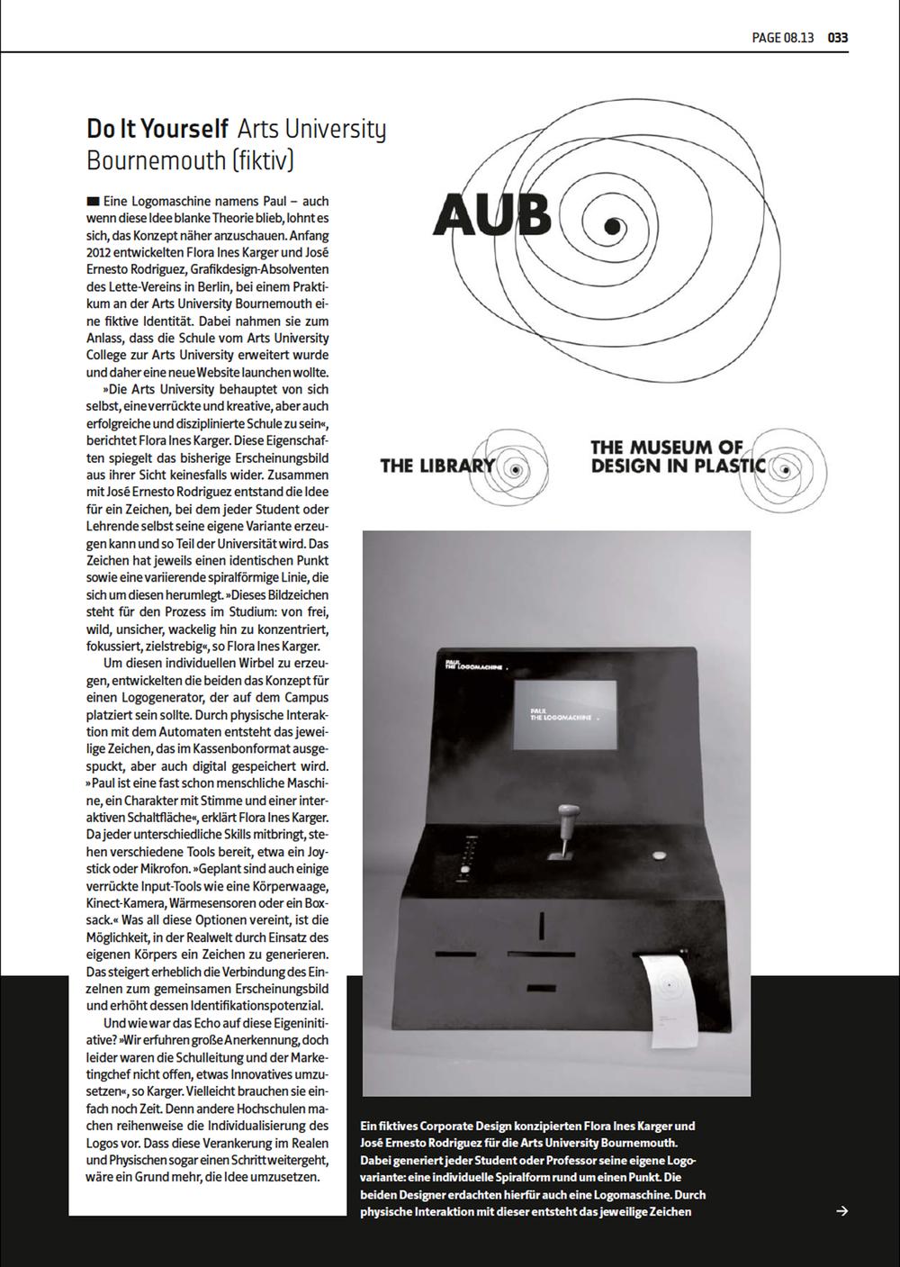 PAGE 08.13 TITEL: Corporate Design