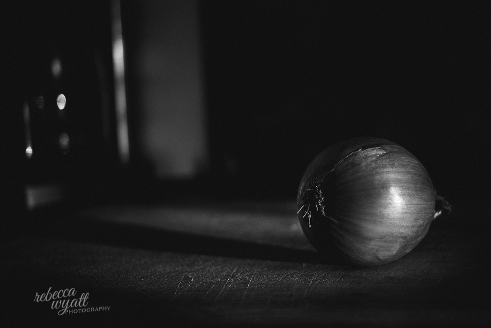 Rebecca Wyatt Photography onion still life