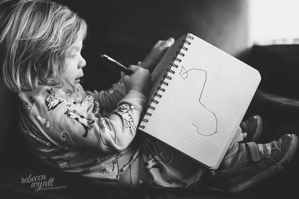 Sketching Rebeca Wyatt Photography