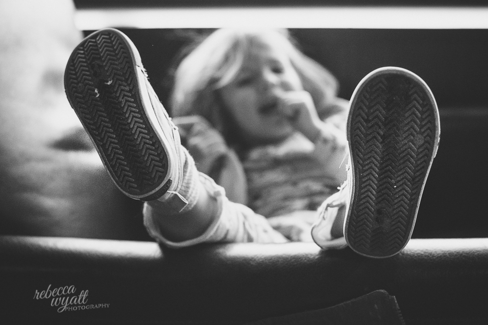 Kickin' Those Feet Up Rebecca Wyatt Photography