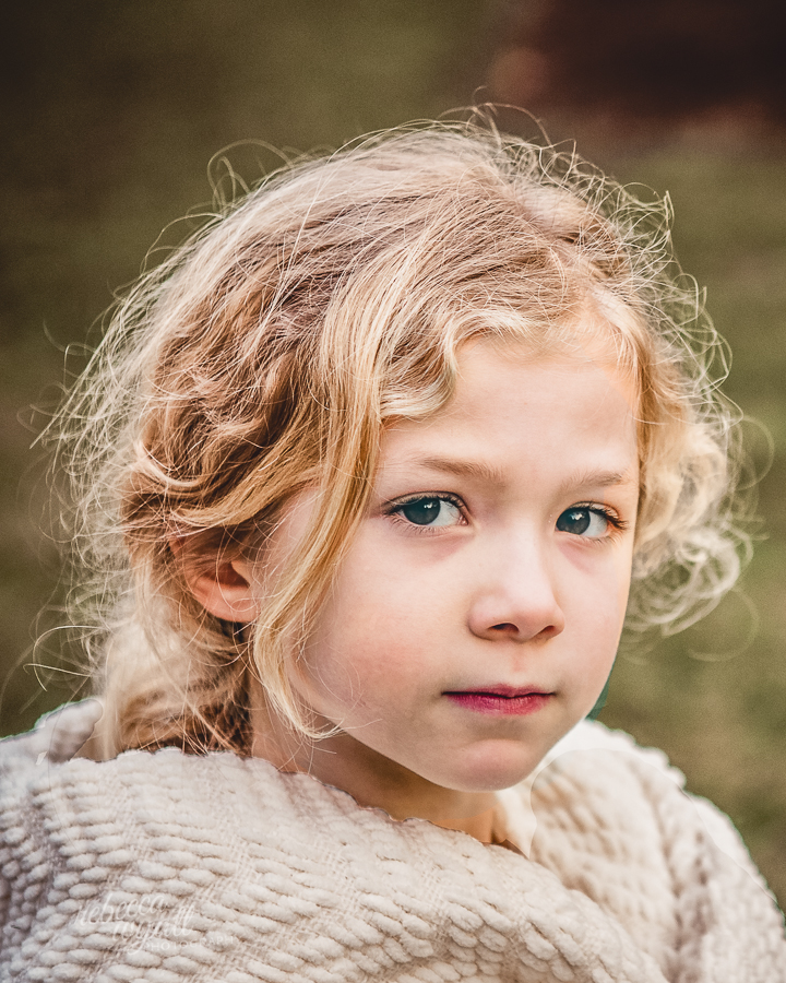 Winter Portrait Color by Rebecca Wyatt Photography