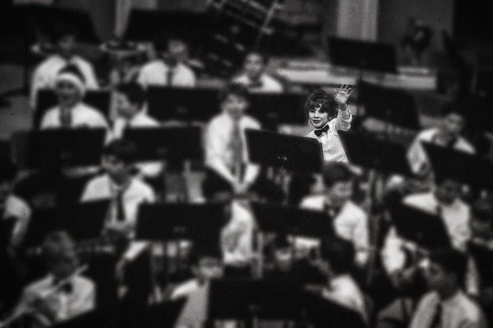 First Middle School Band Concert