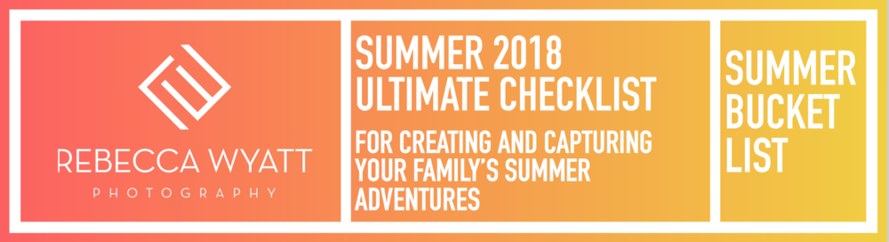 Ultimate 2018 summer photo checklist