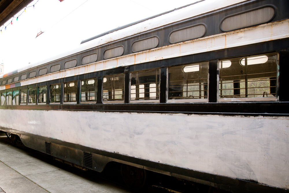 historic trolly located at Baltimore Streetcar Museum