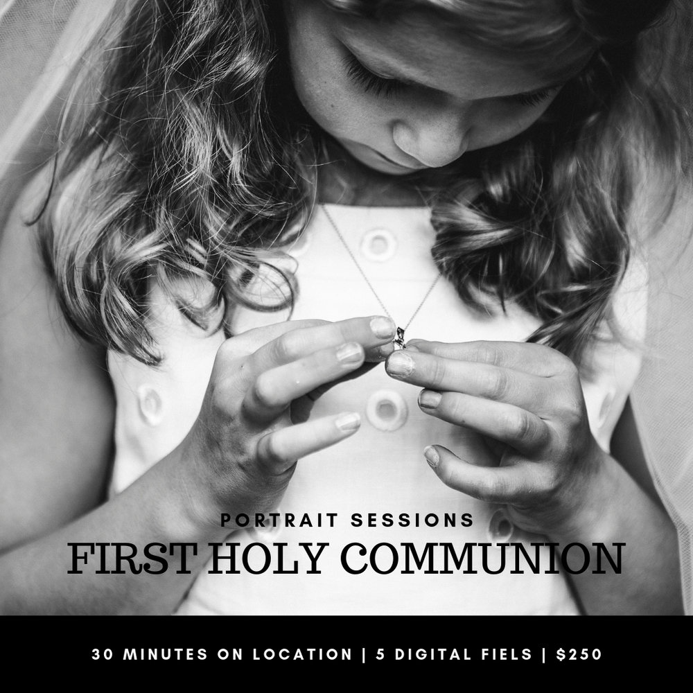 First Holy Communion Portrait Sessions