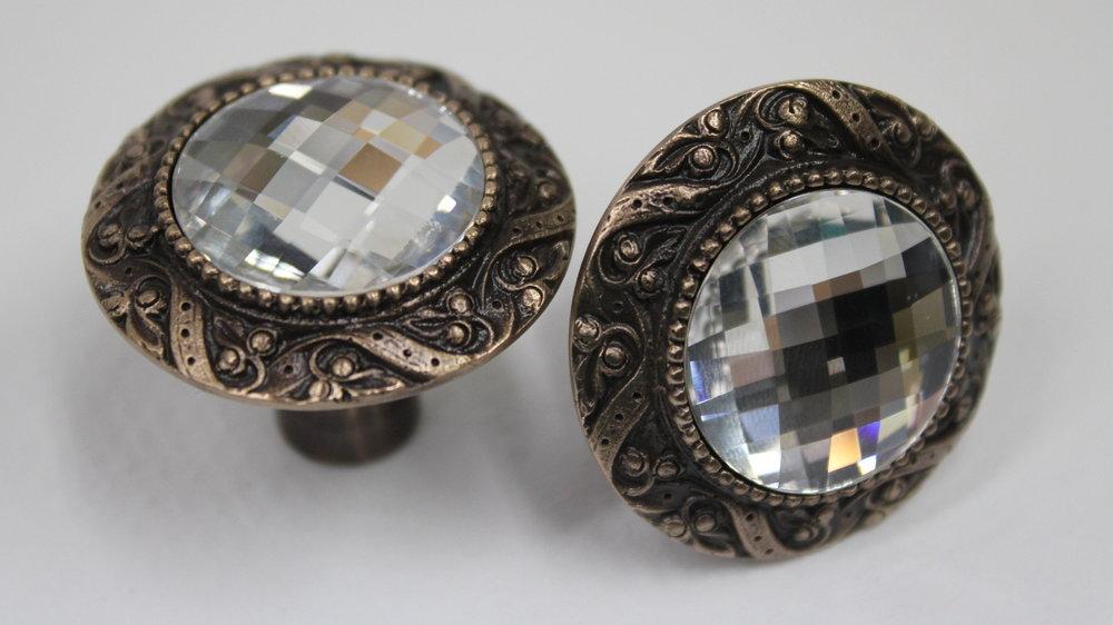 Swarovski Crystal Knobs
