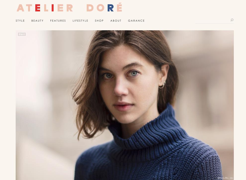 Garance Doré - Profile on Georgia Graham, Model and Writer