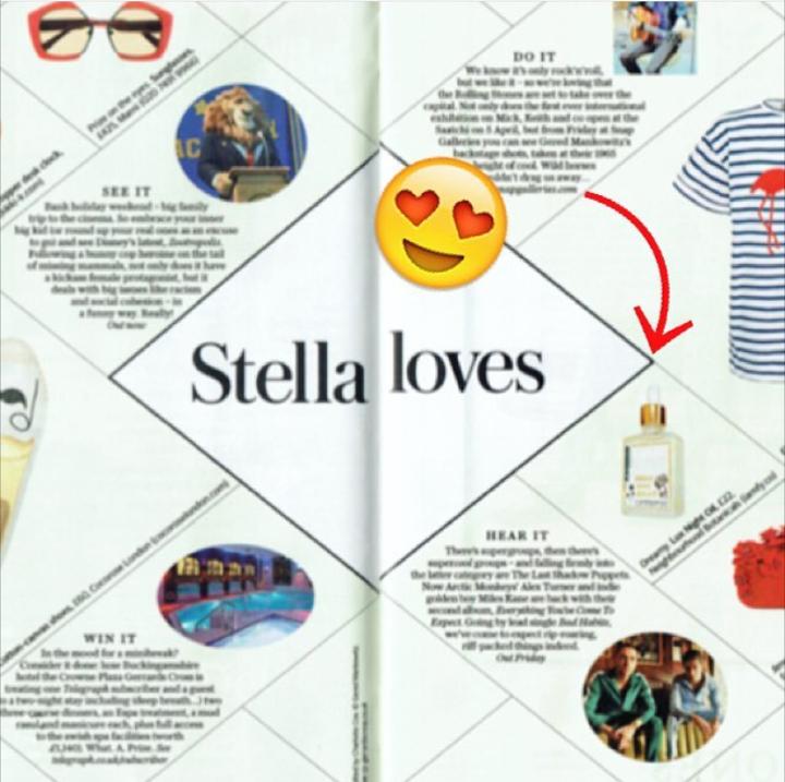 Stella Magazine - Print issue Nov '16-'Stella Loves'