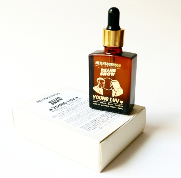 Rejjie Snow x N.B.Young Luv - hemp, rosehip, argan oil and the rest(✿◠‿◠)limited lux blend for young faces