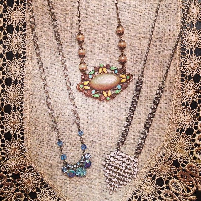Upcycled Vintage Pin Necklaces.jpg