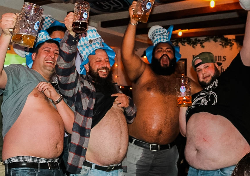 Wacky Contestswith Cash Prizes - How many wieners could you handle at once? Come find out during our National Bratwurst Eating Contest (10/20). Rather be drinking than eating? Show off that bier belly during our Best Bier Belly Competition(10/5) for a chance to win a hefty cash prize! Even if you don't sport a bier belly, it's a hilarious event you won't want to miss.