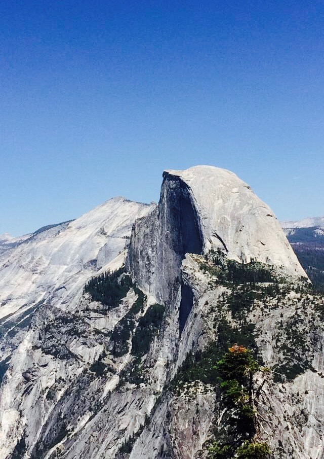 View of Half Dome, Photo by Connor Moynihan