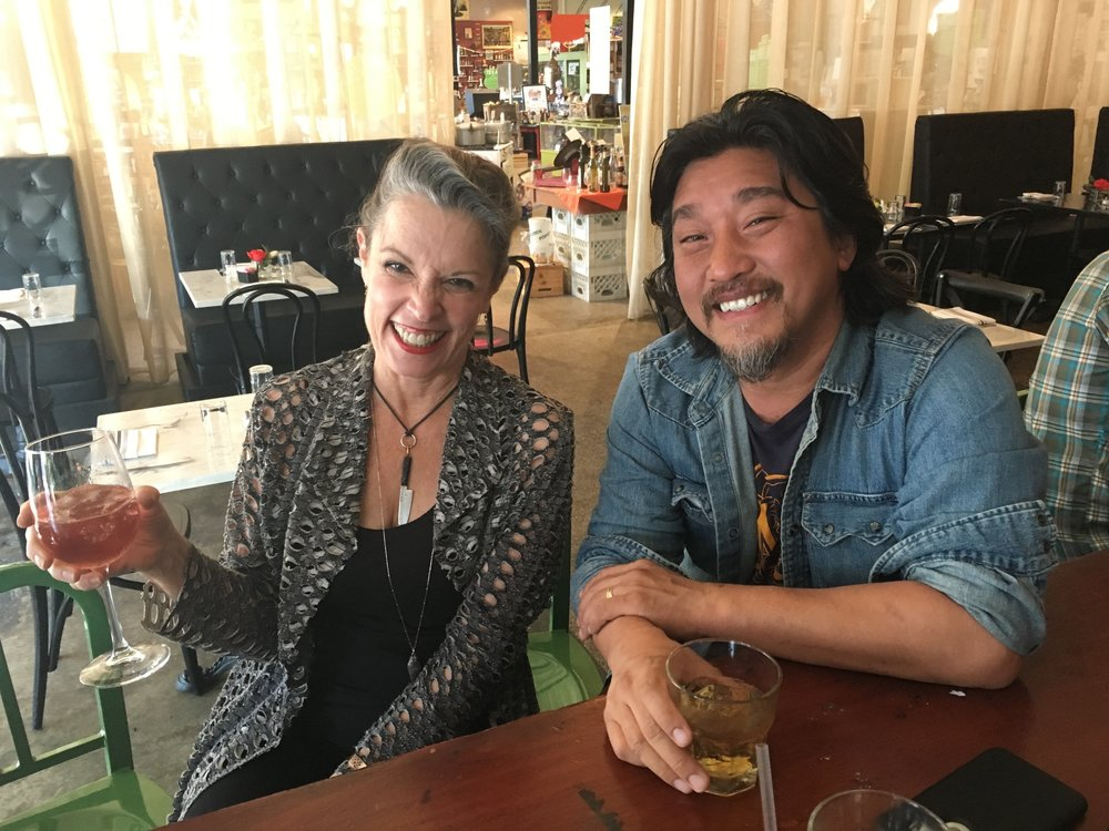 Host Poppy Tooker with Chef Edward Lee