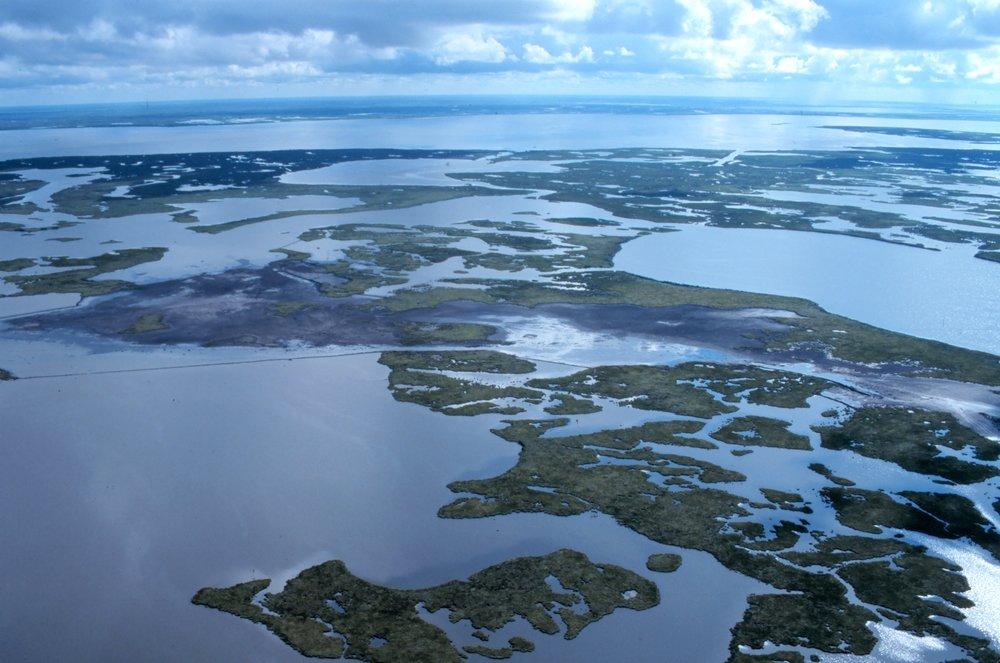 Coastal Erosion of the Louisiana Coastline