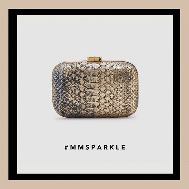 #mmsparkle. Click the link in our bio to shop out limited edition holiday collection.
