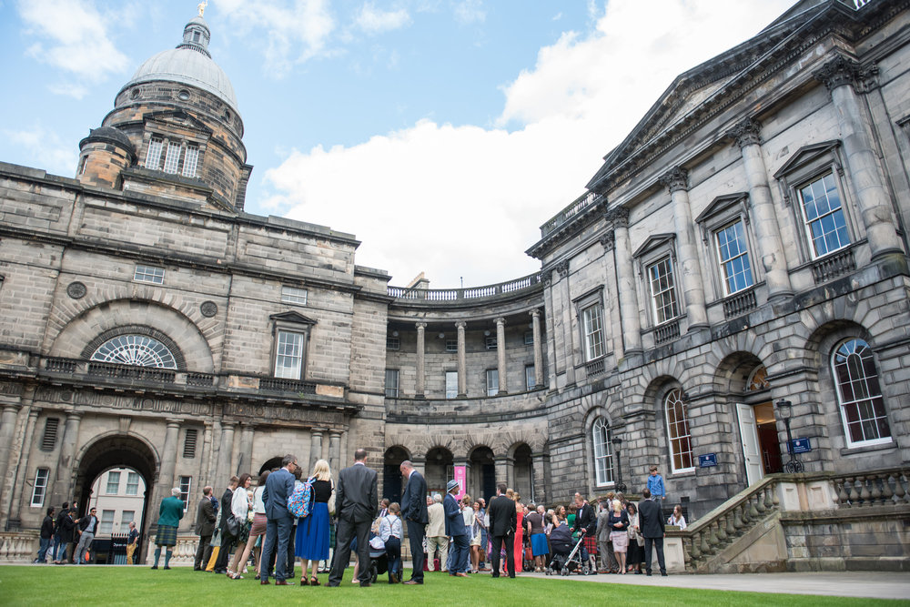 Iona and Jake - Playfair Library and Edinburgh garden - 30 July 2016 - © Photography by Juliebee