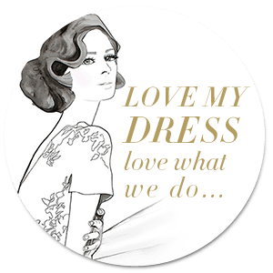 Copy of Copy of Love My Dress Love What We Do - badge