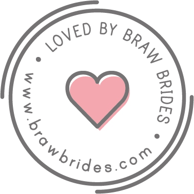 Copy of Copy of Loved by Braw Brides - badge