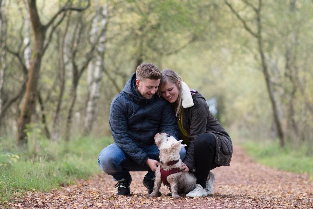 Kelly & Kieran - engagement shoot - ©Julie Broadfoot - www.juliebee.co.uk