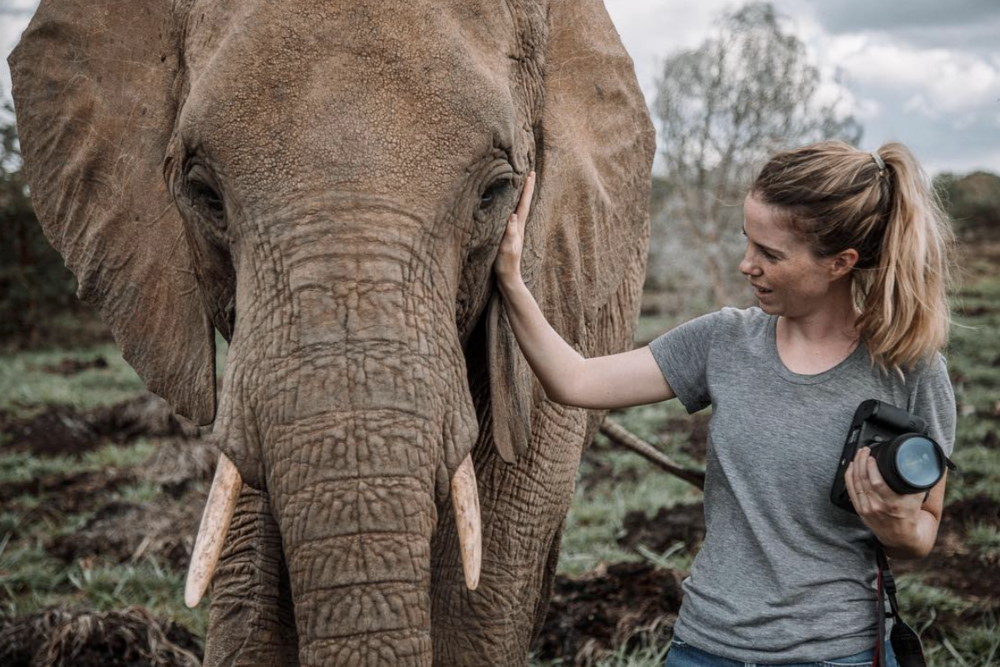 All photos by Freya Dowson. This photo shot on-location for David Sheldrick Wildlife Trust.