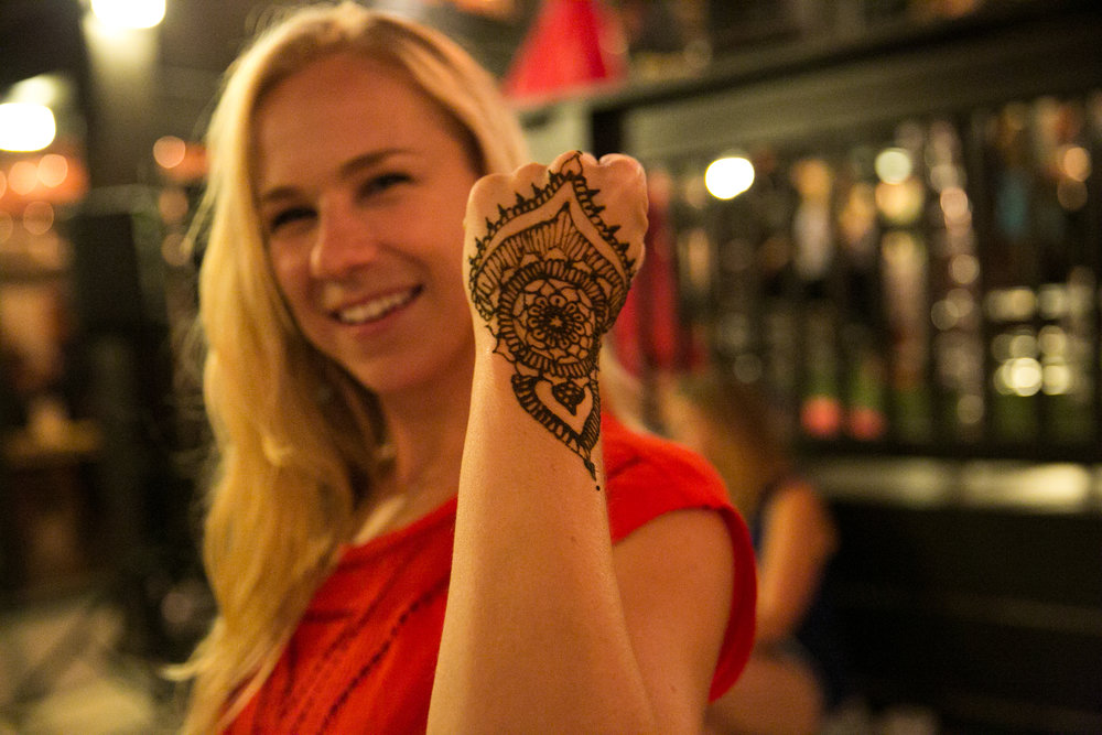 Event volunteer team coordinator Rissa Wray