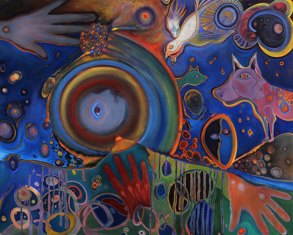 "Threshold  oil on canvas  24"" x 30""  2016"