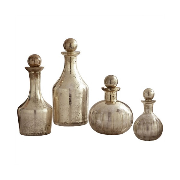 Blythe Glass Decanters, Dwell Studio