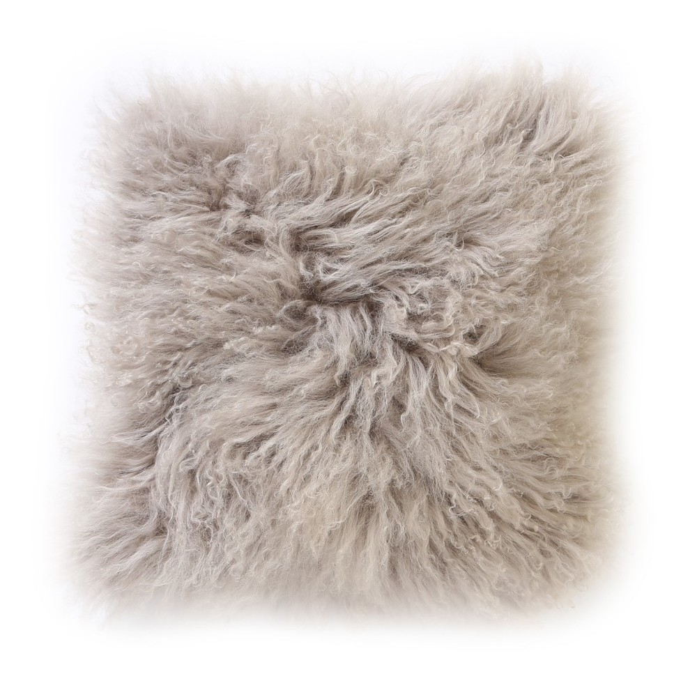 Sheepskin Pillow, Dwell Studio