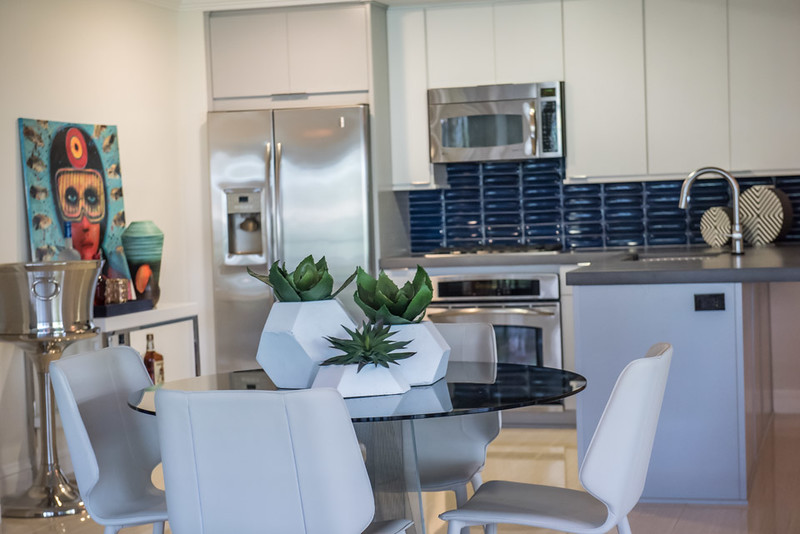 After: Modern Dining Area with High-end Furnishings
