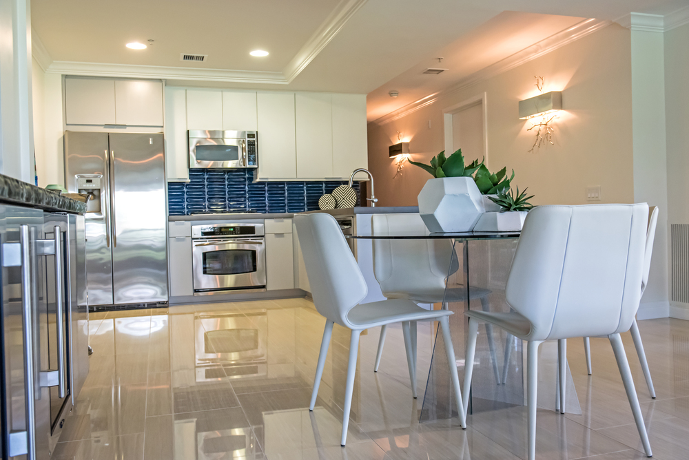 6 Modern+Dining+Glass+Leather+Scottsdale
