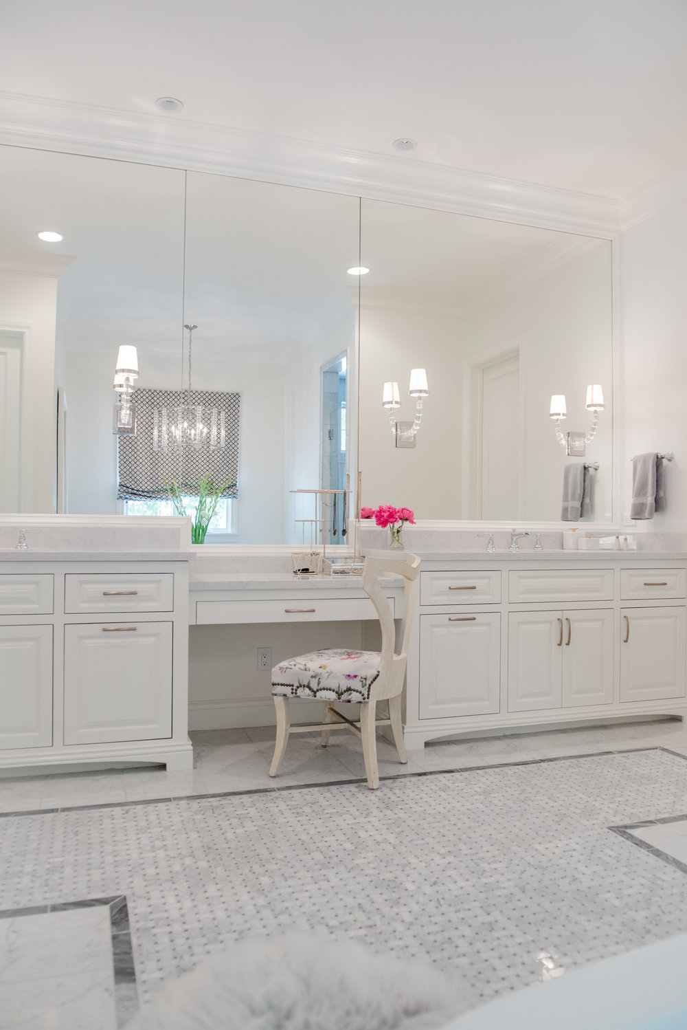 70+Master+Bath+Carrara+Marble+Vanity+Floral+White+Gray+Mirrors+Luxe+Scottsdale.jpg